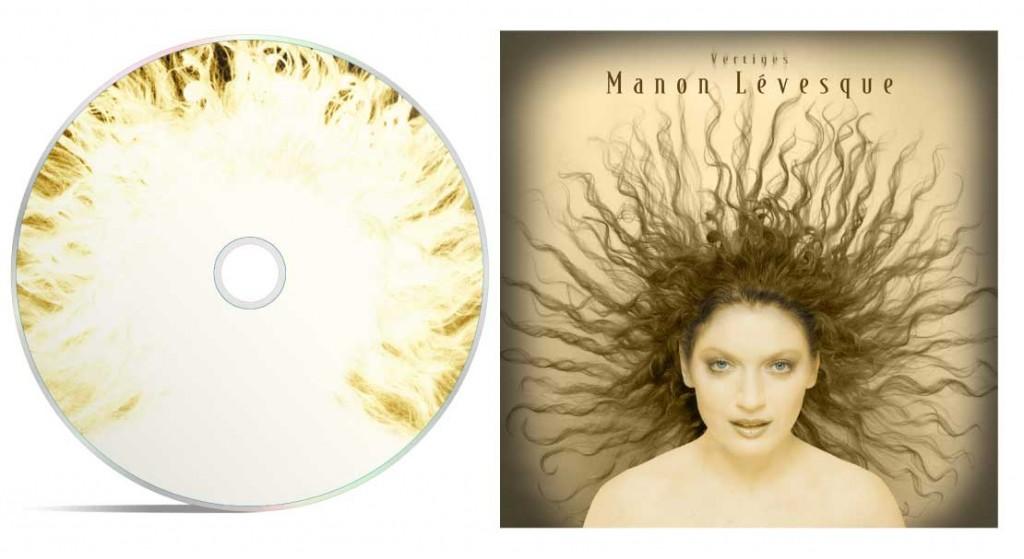 Pochette de disque - Vertiges